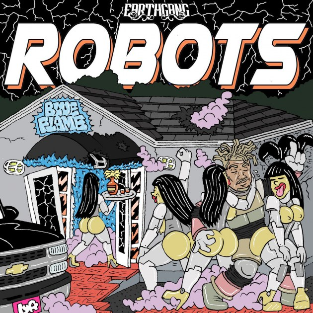 "Earthgang – ""Robots"" EP & Music Video"