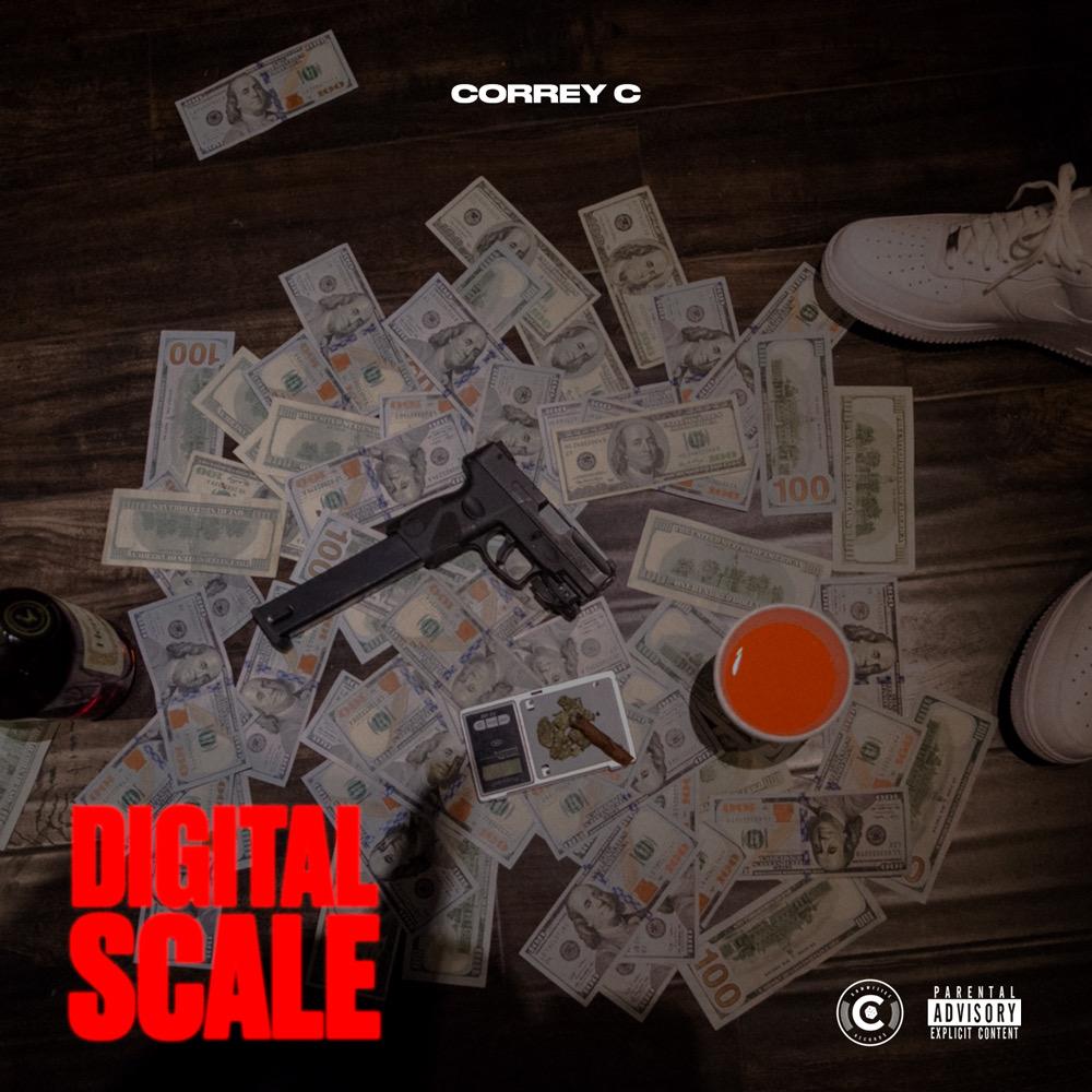 """Correy C – """"Digital Scale"""" EP Prod. by Meez & Louie Ji"""