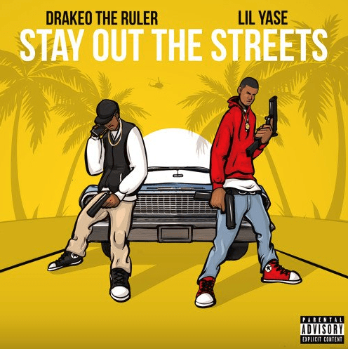"""Lil Yase – """"Stay Out The Streets"""" Feat. Drakeo The Ruler Prod. by LewisYouNasty"""