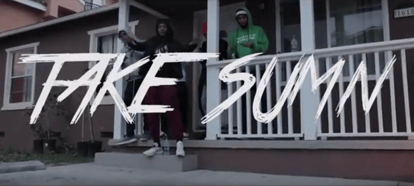 """AzChike – """"Take Sumn"""" Feat. Famous Far Music Video Prod. by Lilaudiano"""