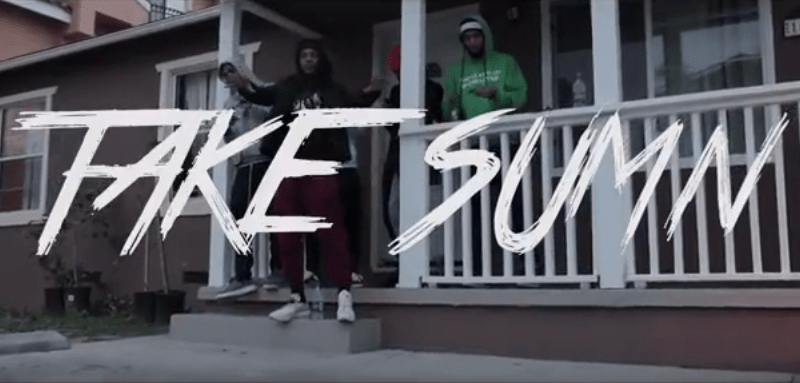 "AzChike – ""Take Sumn"" Feat. Famous Far Music Video Prod. by Lilaudiano"