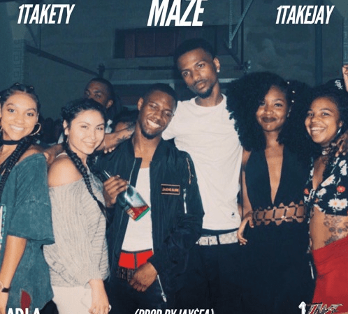 "1TakeTY – ""Maze"" Feat. 1TakeJay Prod. by Jay$ea"