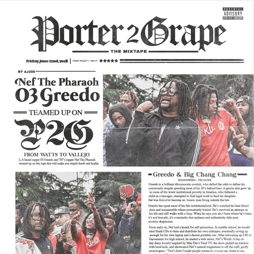 "NEF the Pharaoh & 03 Greedo – ""Ball Out"" Feat. ALLBLACK"
