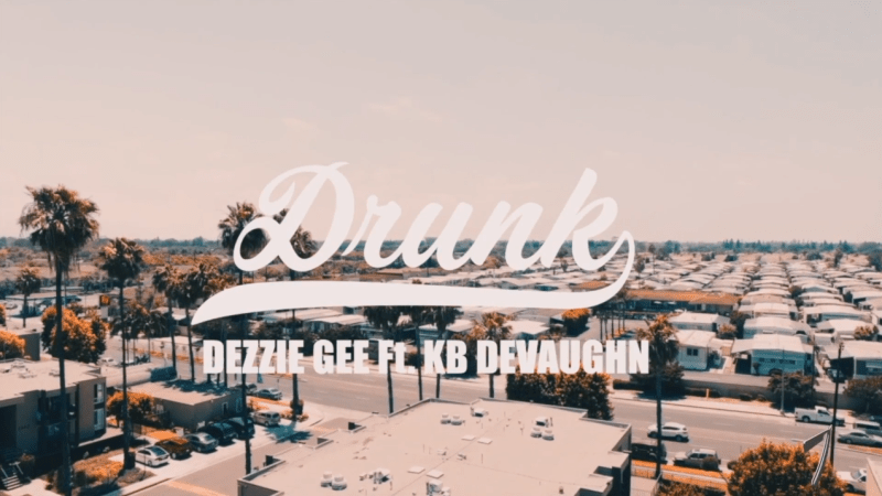 "Dezzie Gee – ""Drunk"" Feat. KB Devaughn Music Video"