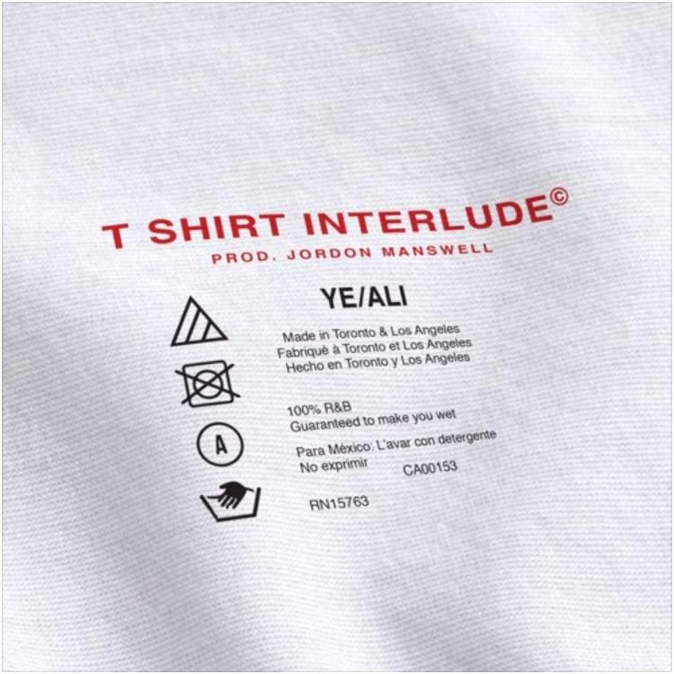 """Spit In My Mouth Hours Playlist Track 1- YE Ali x TYUS """"T Shirt Interlude"""""""