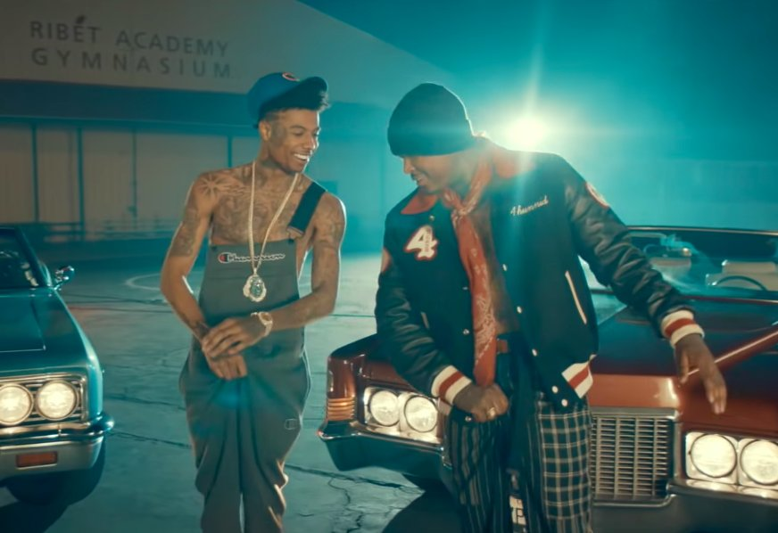 """Blueface Recruits YG For His """"Thotiana Remix"""" (Directed by Cole Bennett)"""
