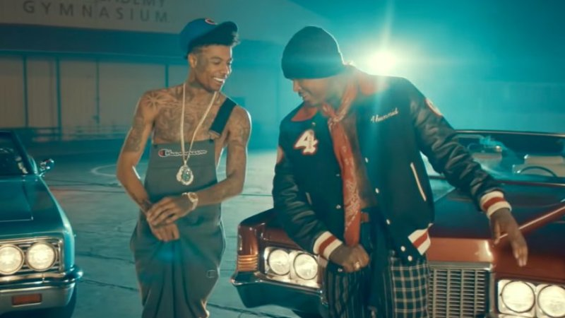 "Blueface Recruits YG For His ""Thotiana Remix"" (Directed by Cole Bennett)"