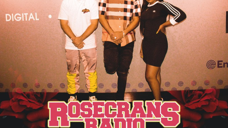 LISTEN– RJMrLA Interview With Rosecrans Radio
