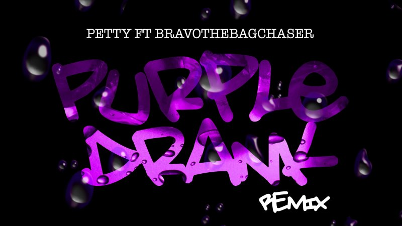 "PettyPetty & Bravo The Bagchaser Pairing On ""Purple Drank"" Is As Natural As Lemon-Lime"