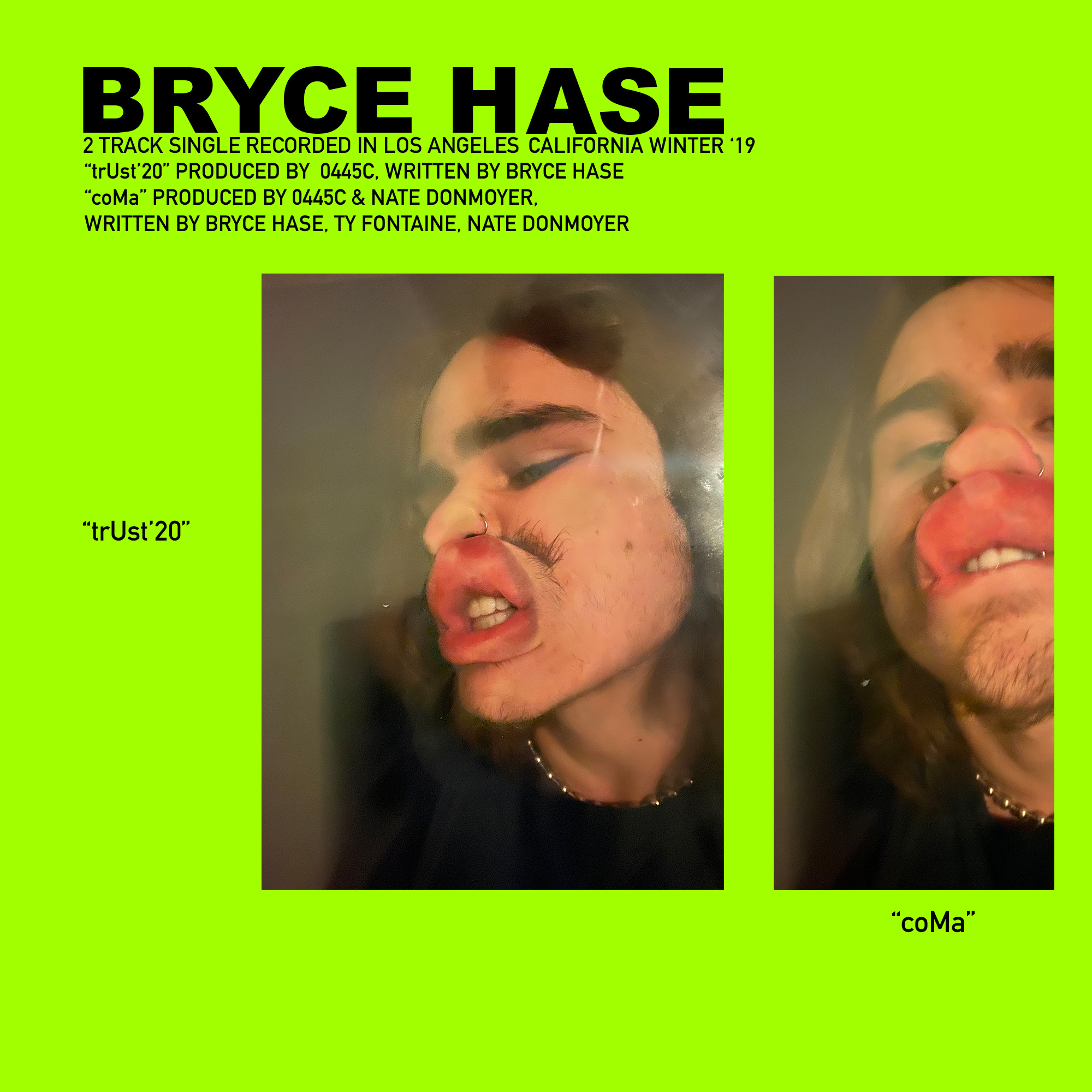 Bryce Hase Drops Off Two Singles With A Feature From Ty Fontaine