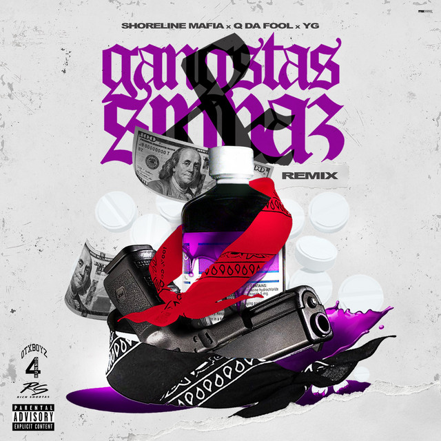 "YG Hops on Shoreline Mafia's ""Gangstas and Sippas"""