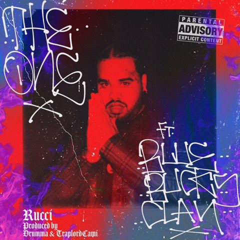 "Rucci spits bars on his new single ""The One"" featuring BlueBucksClan"