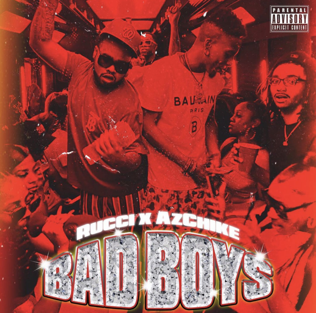 """Rucci Links Up With AZChike for  """"Bad Boys"""""""