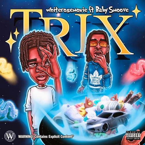 """Whiterosemoxie Connects With Baby Smoove For The Remix To """"trix"""""""
