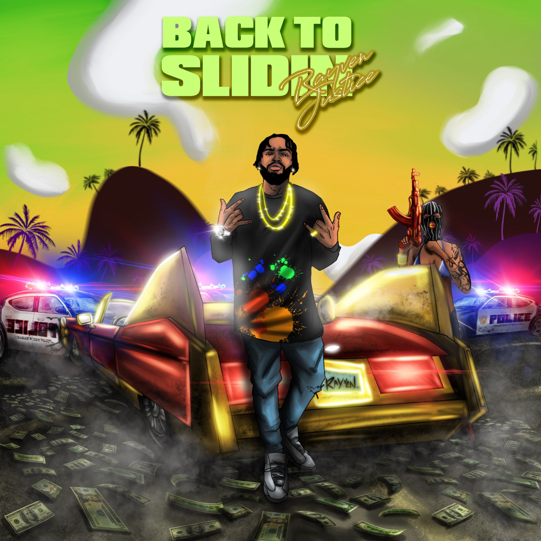 """Rayven Justice Releases """"Back To Slidin"""" Album Ft Sada Baby, Yungeen Ace, YBN Nahmir + More"""
