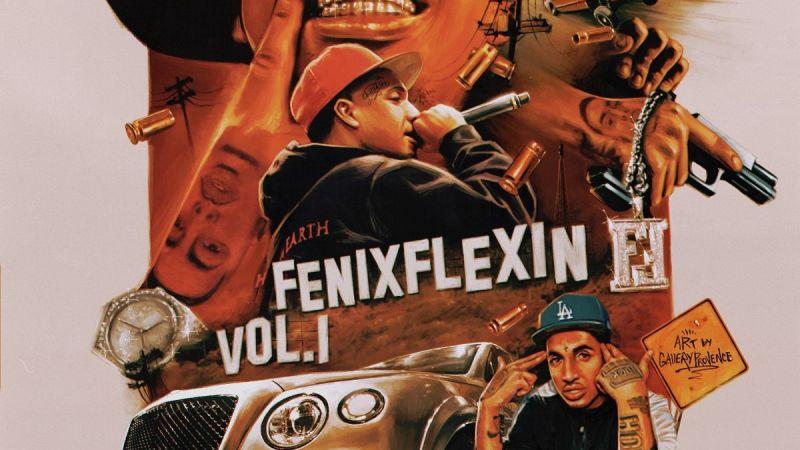 FENIX FLEXIN SHARES DEBUT MIXTAPE FENIX FLEXIN VOL 1.
