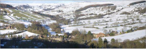 Rosedale Abbey, looking towards Northdale