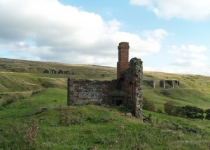 Black House ruins, East Mines