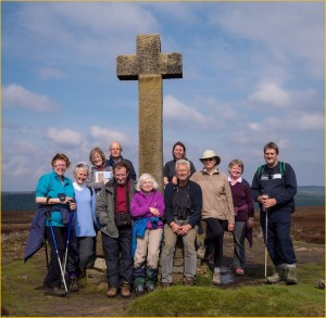 Walking group at Ana Cross, 19 May 2013