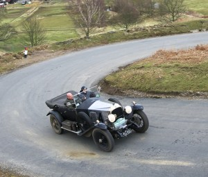 The winners of the pre 1925 Class, Nigel and Christine Gray