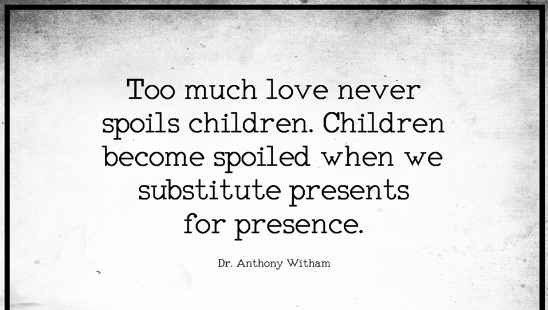 Can we love our children too much?