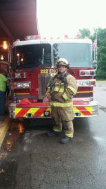 Firefighter Tim