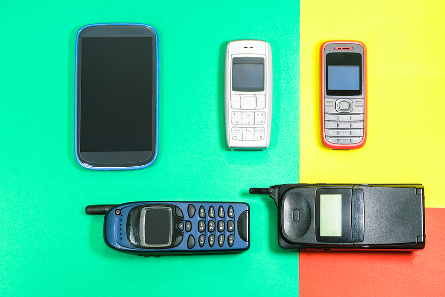 New on the portfolio: a piece on the history of mobile technology