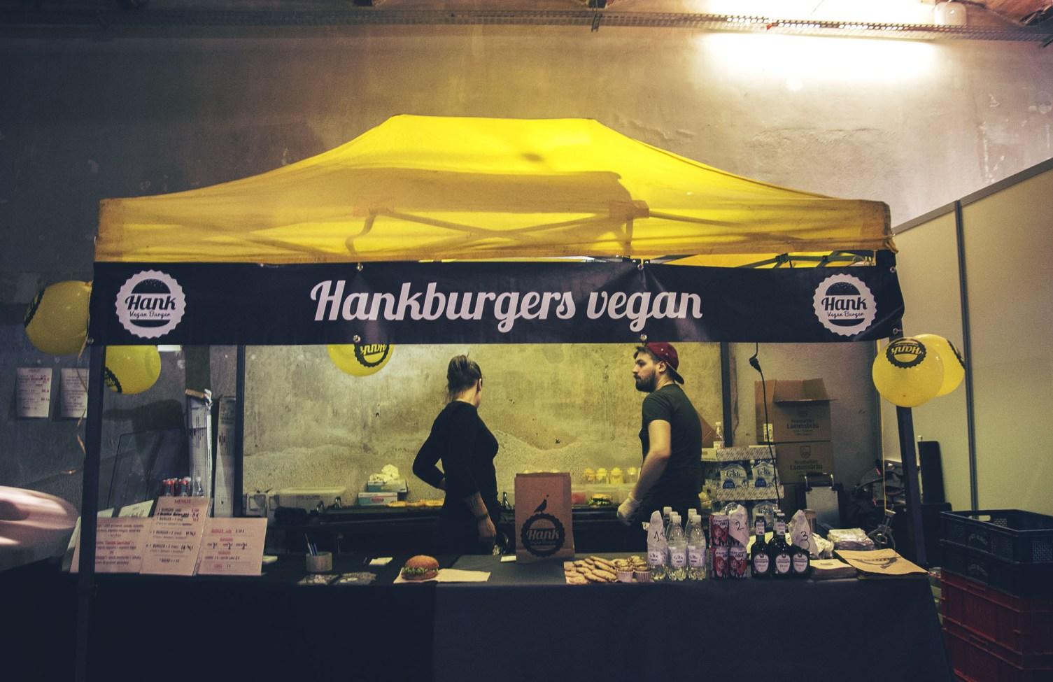 Veggie World Paris : Hankburger vegan