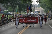 Patriots marching band