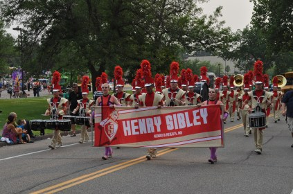 Sibley HS marching band