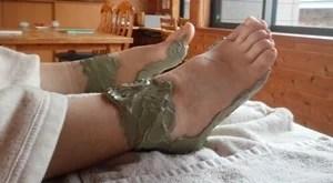 足のクレイパック