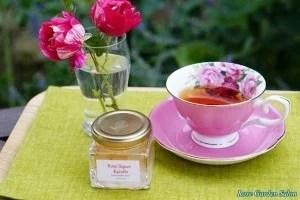紅茶とシロップ