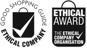 logo of the good shopping guide ethical awards