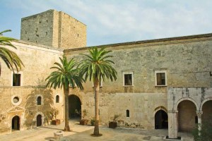 A 12th century castle in Bari known as Castello Normanno-Svevo