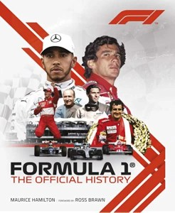the front cover of formula 1 the official history