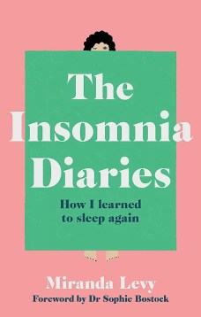 Front cover of the insomnia diaries