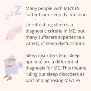 sleep and ME summary text box