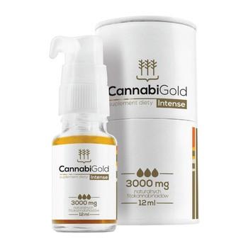 CannabiGold Intense 3000 mg Tropfen 12 ml