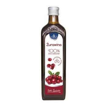 Cranberry 100, Cranberrysaft, 490 ml