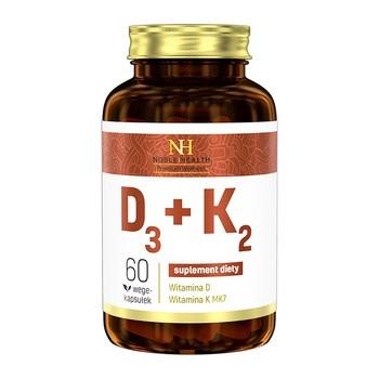 D3 K2 Kapseln 60 Stueck Noble Health
