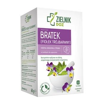 DOZ ZIELNIK Stiefmuetterchen violett tricolor Kraeuteraufguss 2 g 30 Beutel