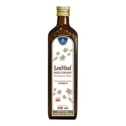 LenVitol Leinöl, kaltgepresst, 500 ml