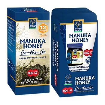 Manuka Honig MGO 100, Nektar, 60 g, 12 Beutel à 5 g