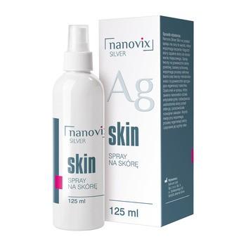 Nanovix Silver Skin Spray fuer die Haut 125 ml