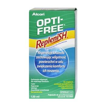 Opti Free Replenish Linsendesinfektionsloesung 120 ml