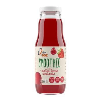 Plan by DOZ Smoothie mit Himbeere, Erdbeer-Rote-Bete-Geschmack, 300 ml