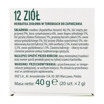 ZIELNIK DOZ 12 Kraeuter Kraeutertee 2 g 20 Stk. Limitierte Auflage3