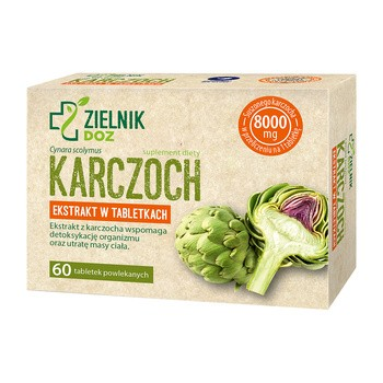 ZIELNIK DOZ Artischocke Dragees 60 Stk.
