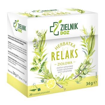 ZIELNIK DOZ Kraeutertee Relax 17 g 20 Stk.
