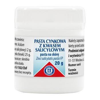 Zinkpaste mit Salicylsaeure Lassara Paste 20 g Hasco